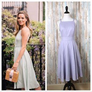 New Gal Meets Glam 6 Linen Caroline Midi Dress